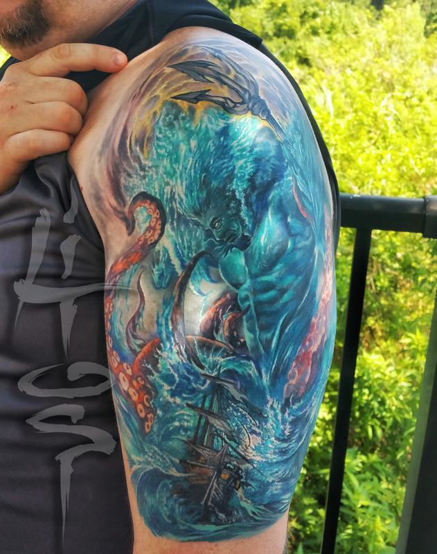 Forbidden Images Tattoo Art Studio Tattoos Half Sleeve