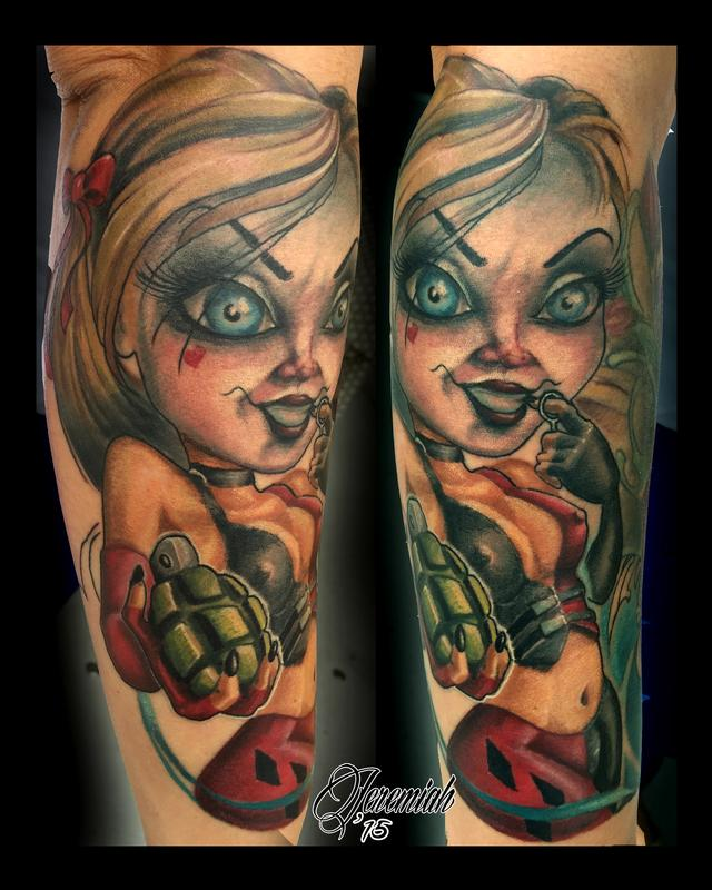 Forbidden Images Tattoo Art Studio  Tattoos  Pin Up