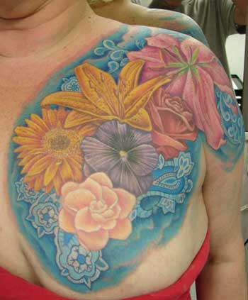 la ink tattoos lion gardenia flower tattoos gallery