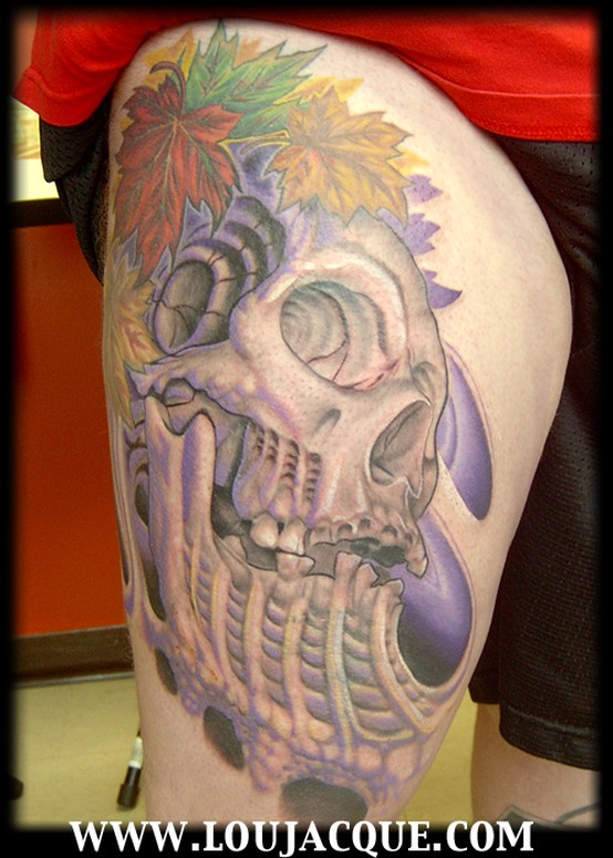 BioSkull Cover up Tattoos