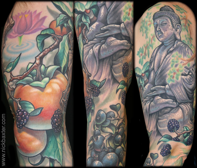 The Forager S Path By Nick Baxter Tattoos